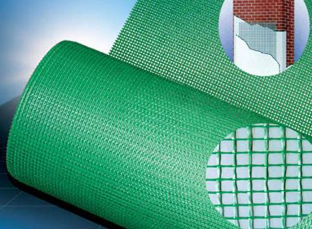 Alkali-resistant fiberglass mesh used for external wall insulation