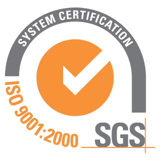 An icon of SGS certification.