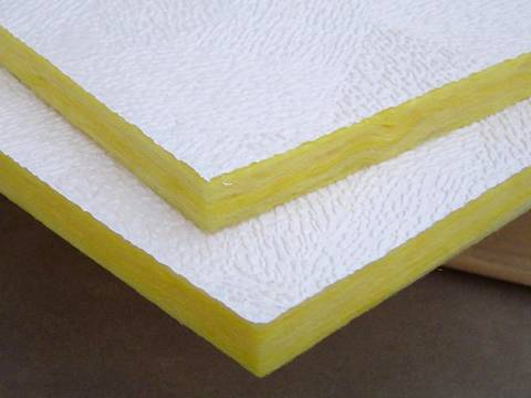 PVC fiberglass panel of good decorative effect